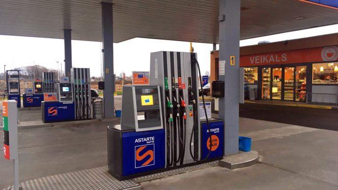 Jauna auto gāzes uzpildes vieta - DUS Ventspils