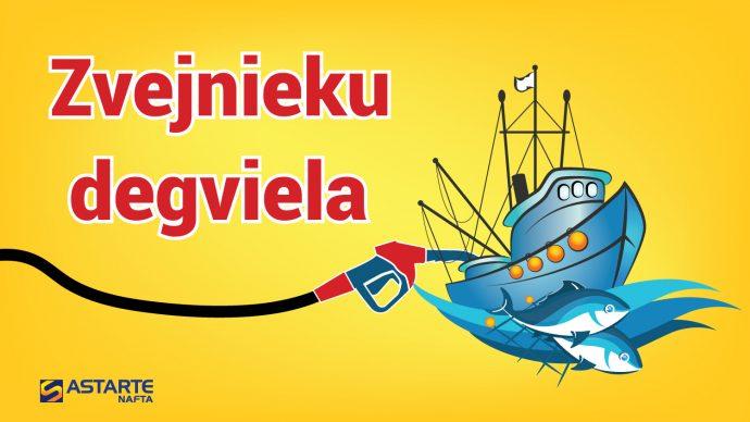 Uzsākam Zvejnieku degvielas tirdzniecību