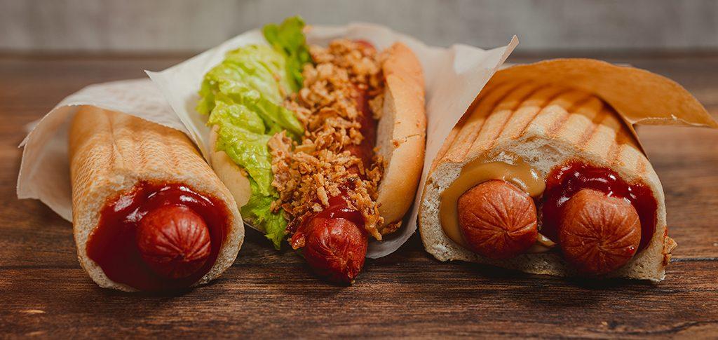 Hotdogi Franču Dubultais Franču Amerikāņu